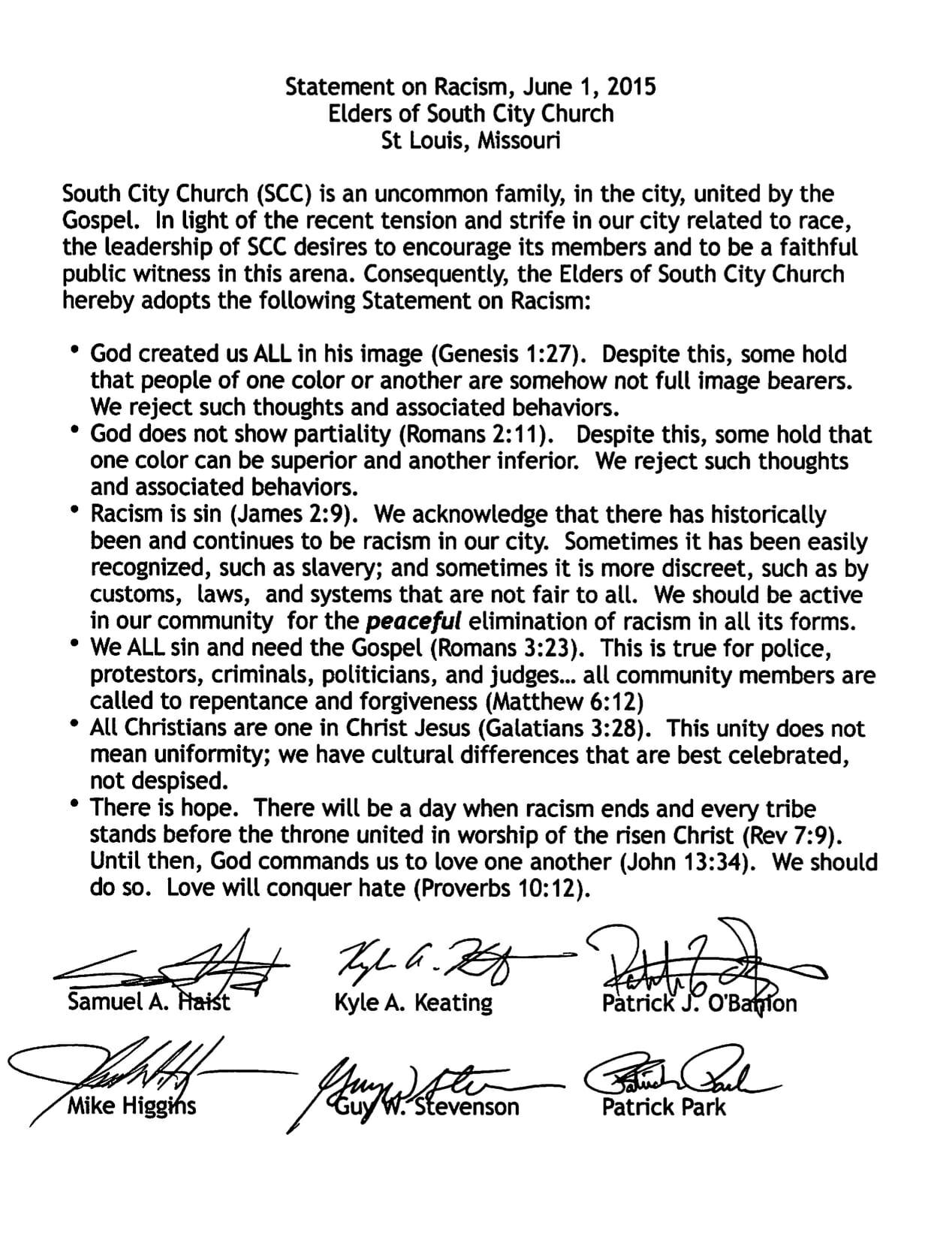 Documents + Devotionals   South City Church